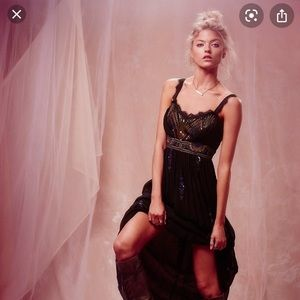 Free People Artemis Black Maxi Dress Size 0